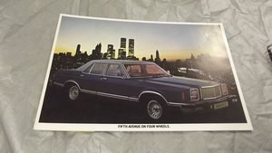 mercury brochures original for sale