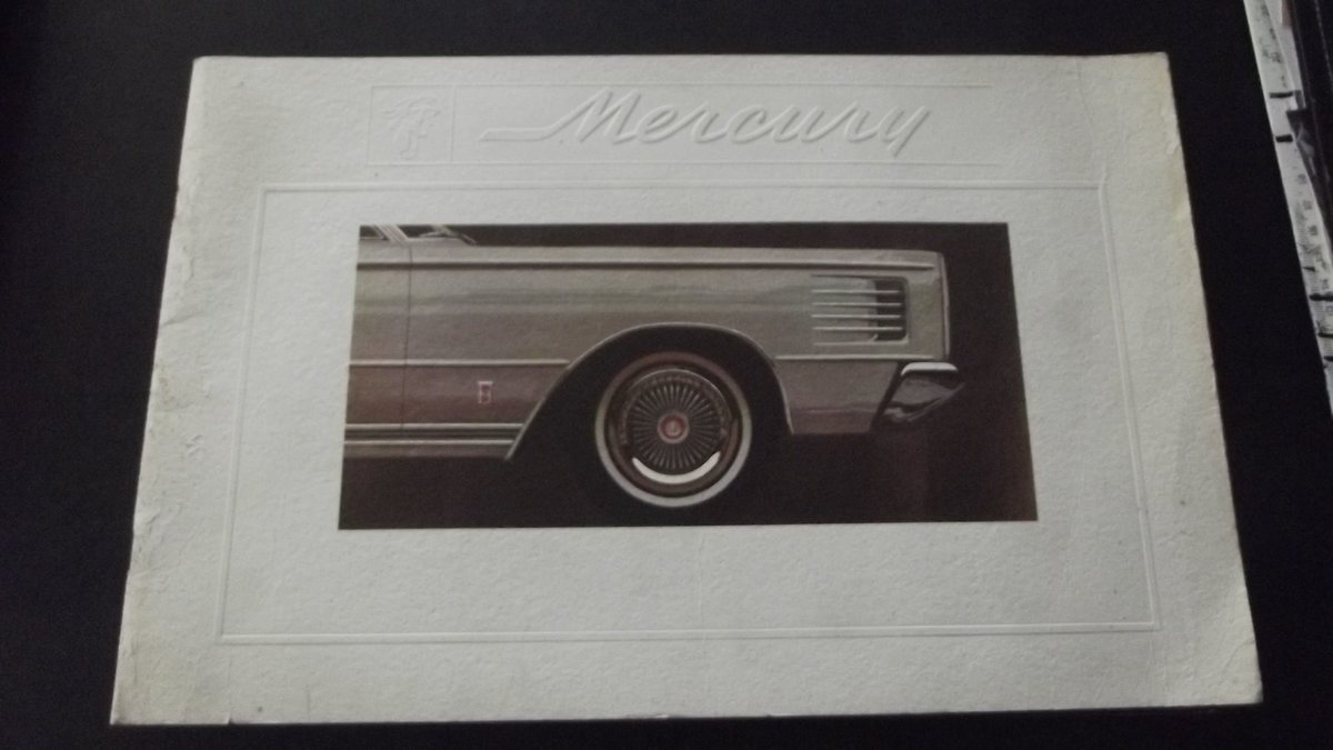 0000 mercury brochures original for sale For Sale (picture 3 of 4)