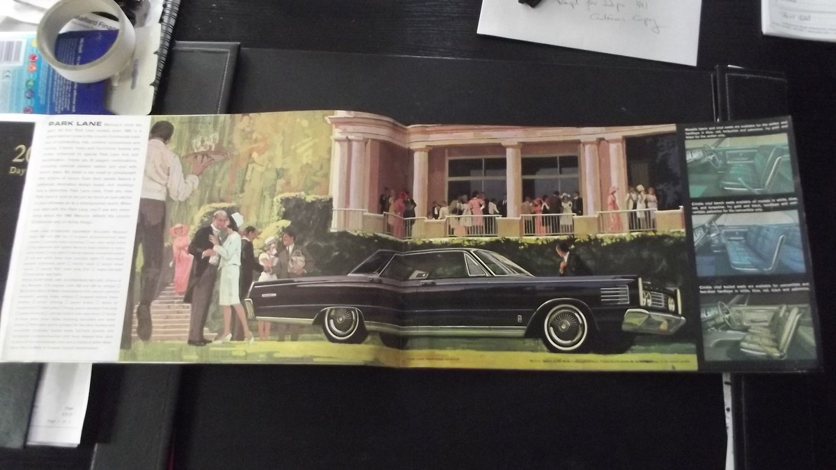 0000 mercury brochures original for sale For Sale (picture 4 of 4)