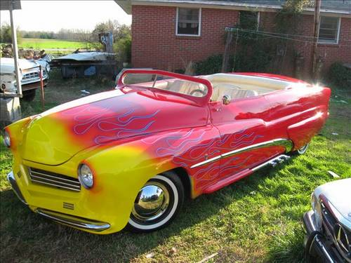 1950 Mercury Convertible For Sale (picture 1 of 6)