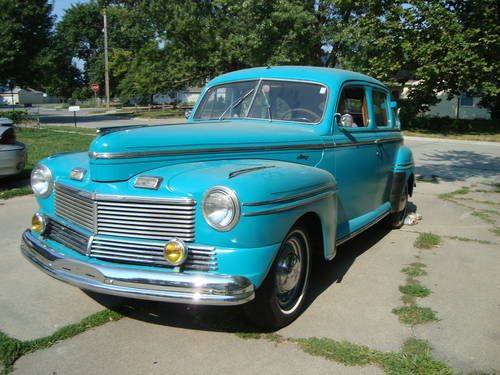 1942 Mercury 4DR Town Sedan *RARE* For Sale (picture 2 of 6)