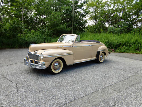 1947 Mercury Eight Convt Very Presentable - For Sale (picture 3 of 6)