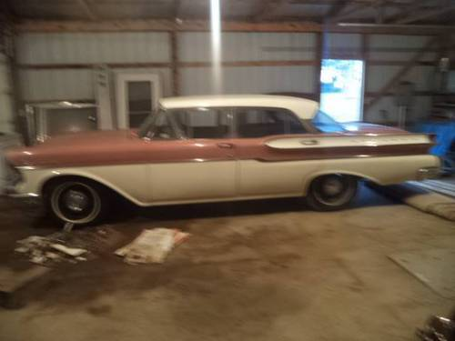 1957 Mercury Monterey 4DR Sedan For Sale (picture 2 of 6)