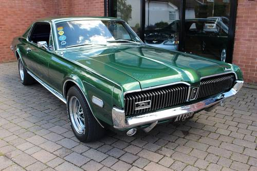 1968 Mercury Cougar 302 V8 Hardtop Coupe SOLD (picture 1 of 6)