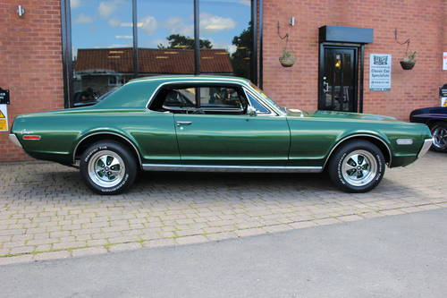1968 Mercury Cougar 302 V8 Hardtop Coupe SOLD (picture 2 of 6)