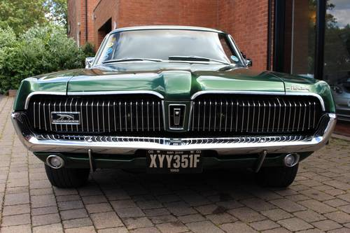 1968 Mercury Cougar 302 V8 Hardtop Coupe SOLD (picture 3 of 6)