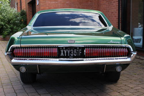 1968 Mercury Cougar 302 V8 Hardtop Coupe SOLD (picture 4 of 6)