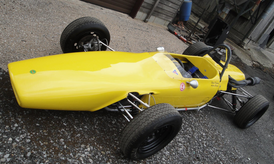 1969 MERLYN MK 11A FORMULA FORD 1600 SINGLE-SEATER For Sale by Auction (picture 1 of 6)