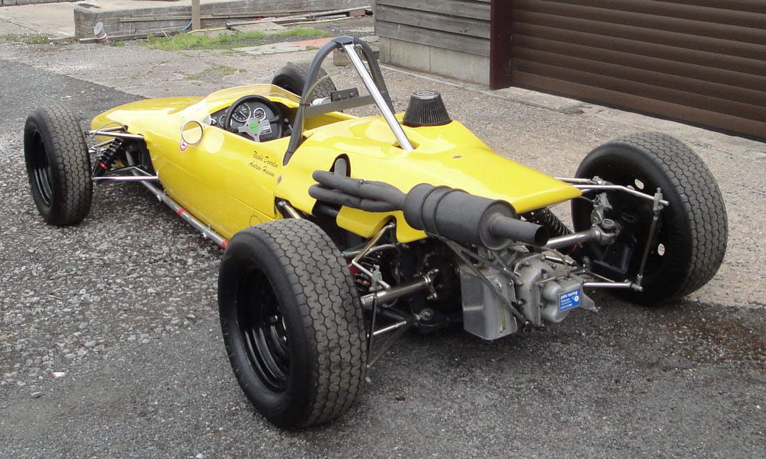 1969 MERLYN MK 11A FORMULA FORD 1600 SINGLE-SEATER For Sale by Auction (picture 2 of 6)