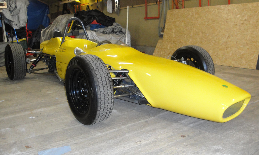 1969 MERLYN MK 11A FORMULA FORD 1600 SINGLE-SEATER For Sale by Auction (picture 3 of 6)