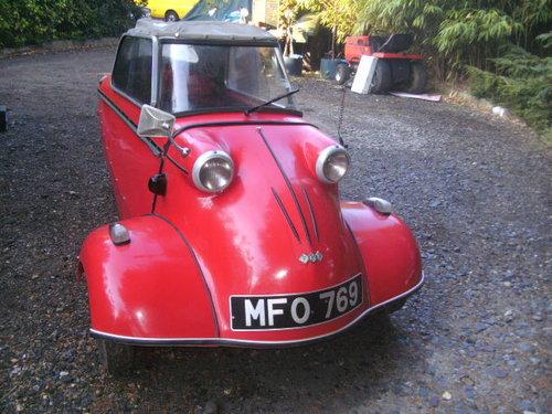 1960 Messerschmitt KR200  For Sale (picture 4 of 6)