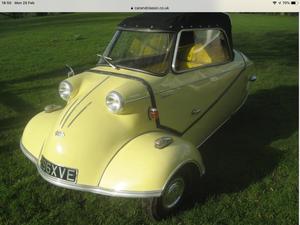 1962 MESSERSCHMITT KR200, RESTORED, BEAUTIFUL! For Sale