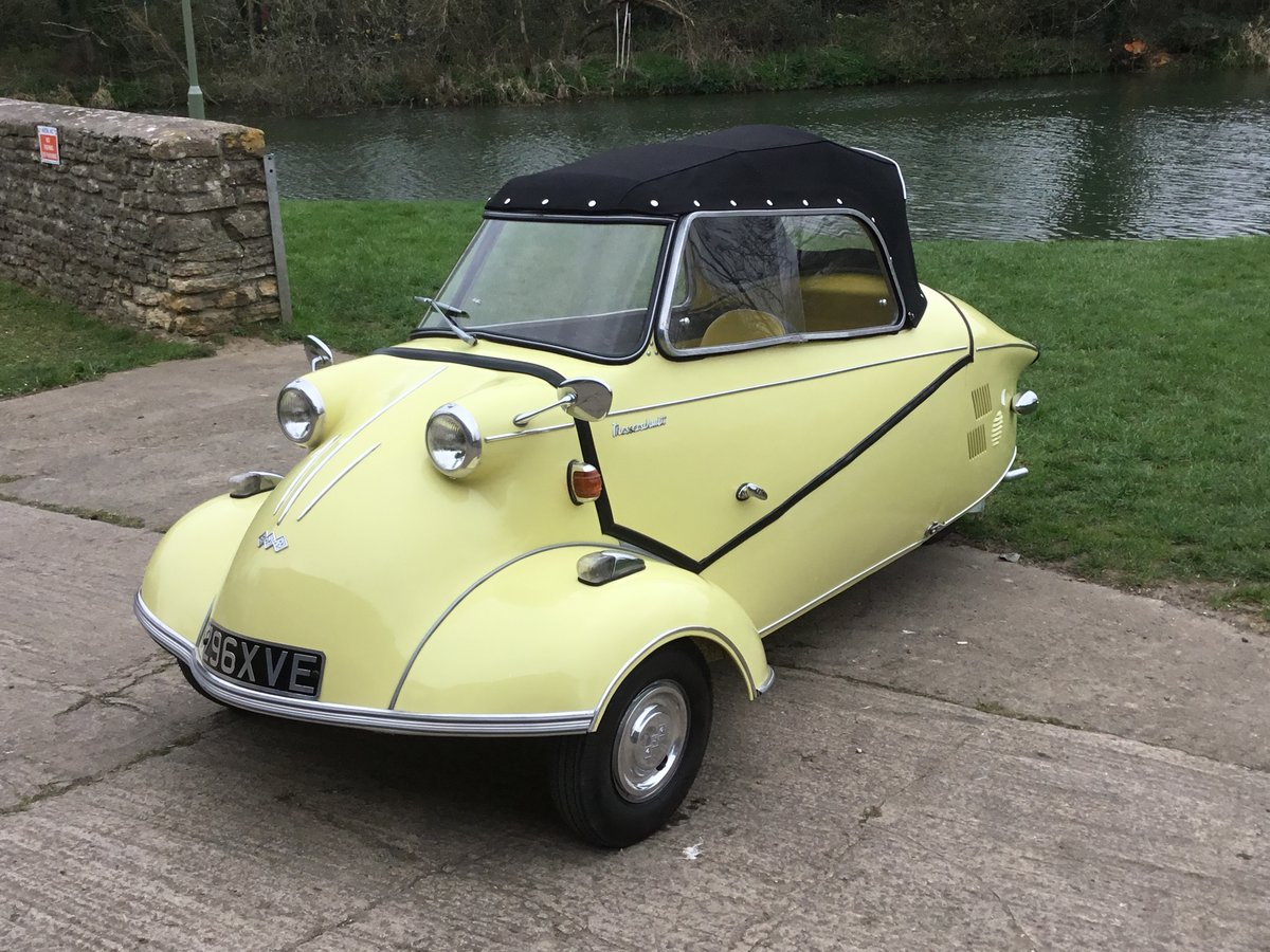 1962 MESSERSCHMITT KR200, RESTORED, BEAUTIFUL, Now Reduced! For Sale (picture 2 of 6)