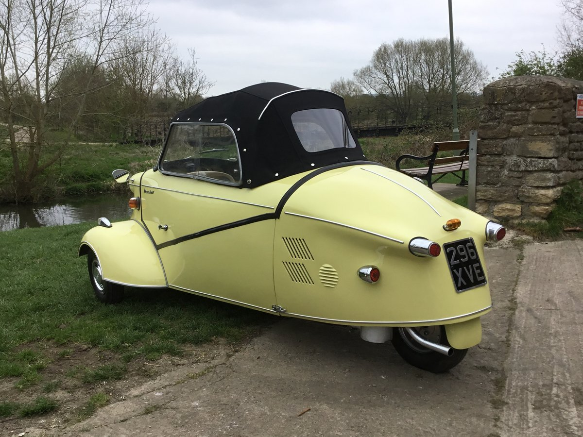 1962 MESSERSCHMITT KR200, RESTORED, BEAUTIFUL, Now Reduced! For Sale (picture 3 of 6)