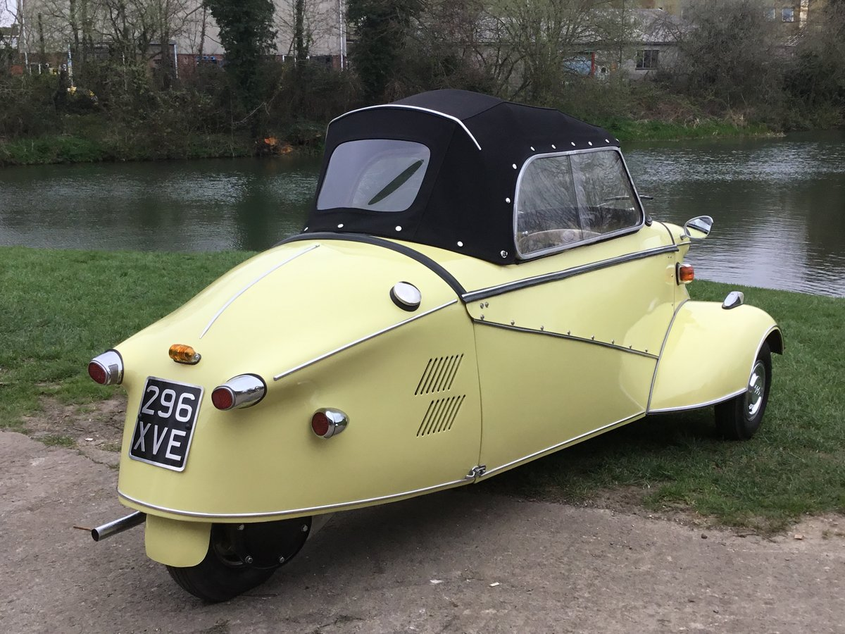 1962 MESSERSCHMITT KR200, RESTORED, BEAUTIFUL, Now Reduced! For Sale (picture 4 of 6)