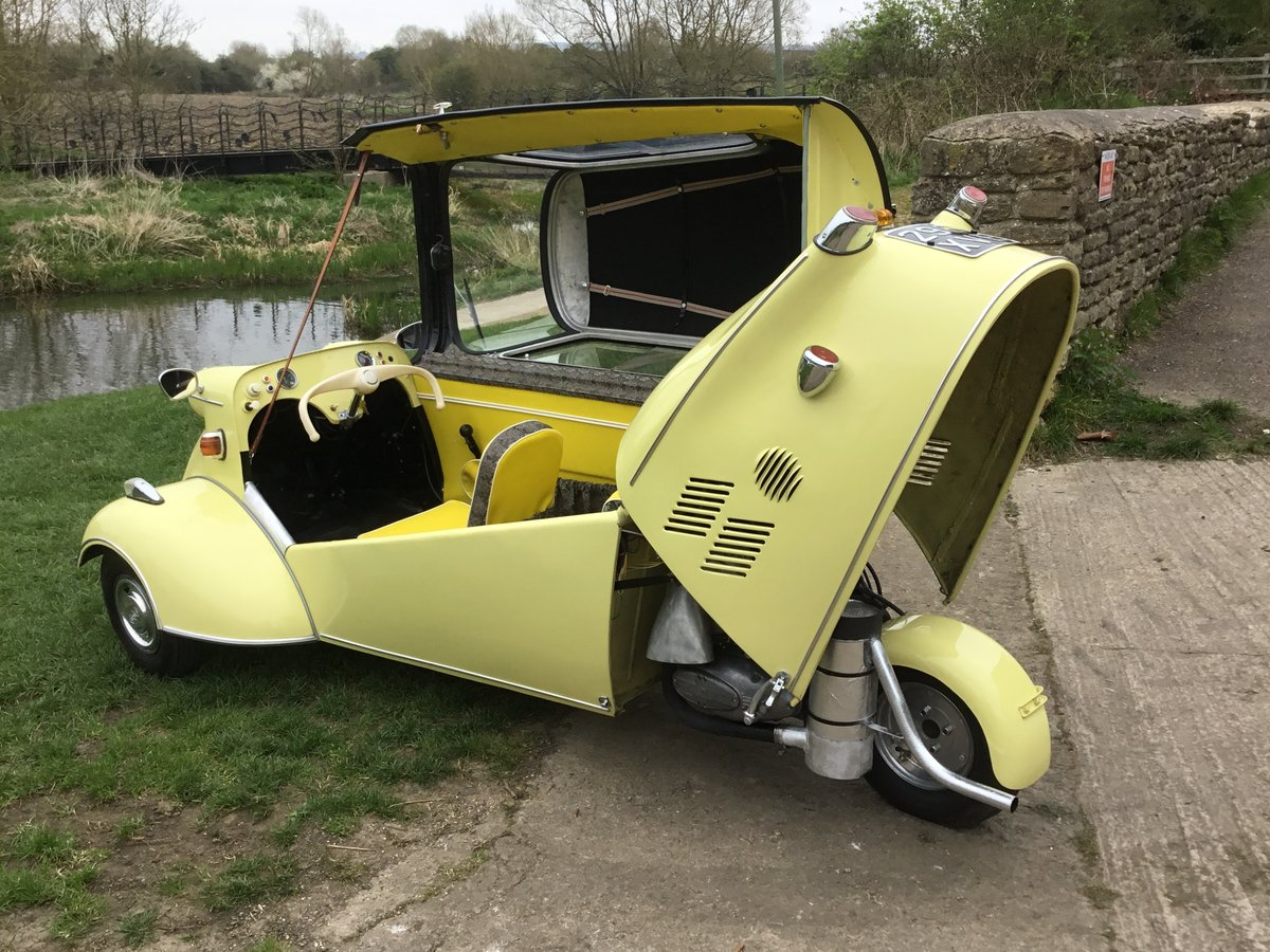 1962 MESSERSCHMITT KR200, RESTORED, BEAUTIFUL, Now Reduced! For Sale (picture 5 of 6)
