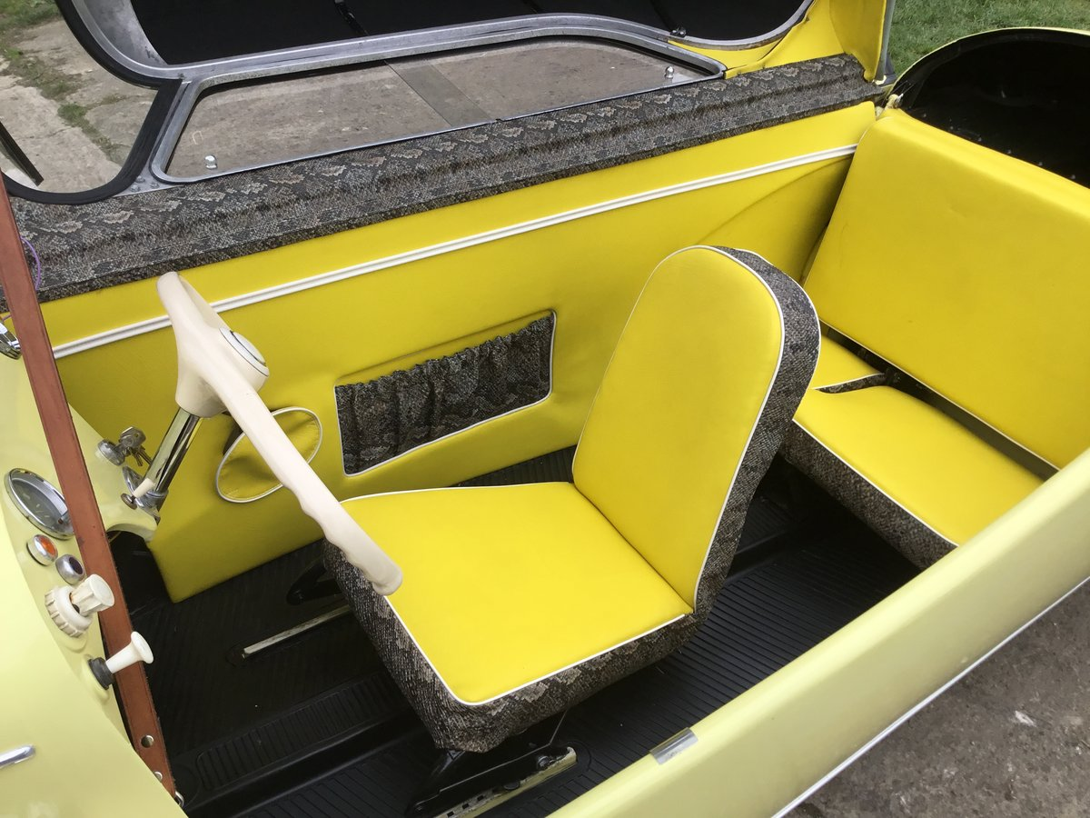 1962 MESSERSCHMITT KR200, RESTORED, BEAUTIFUL, Now Reduced! For Sale (picture 6 of 6)