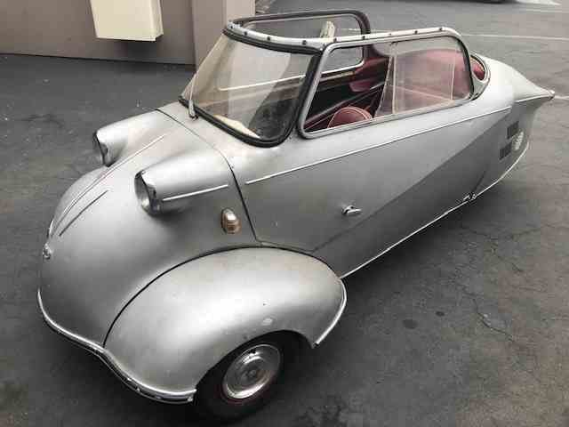 1960 Messerschmitt Kr200 = Rare + Clean Silver(~)Red $26.5k For Sale (picture 1 of 5)