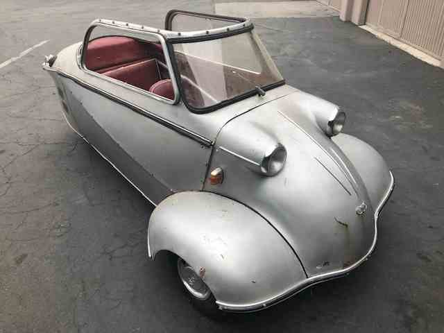 1960 Messerschmitt Kr200 = Rare + Clean Silver(~)Red $26.5k For Sale (picture 2 of 5)