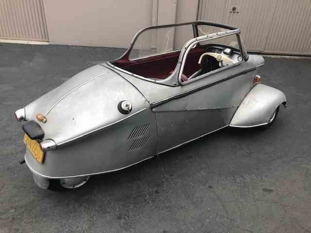1960 Messerschmitt Kr200 = Rare + Clean Silver(~)Red $26.5k For Sale (picture 3 of 5)