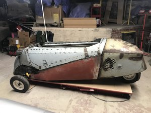 1956 Messerschmitt kr200 restoration project For Sale