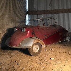 A 1959 Messerschmitt KR200 convertible project - 23/06/19