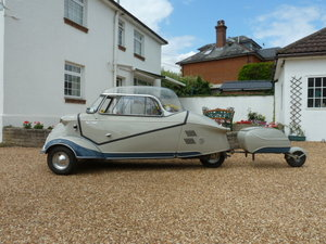 1955 Messerschmitt KR200 and trailer