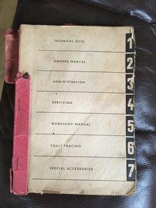 Owners Manual & Gold Portfolio Book