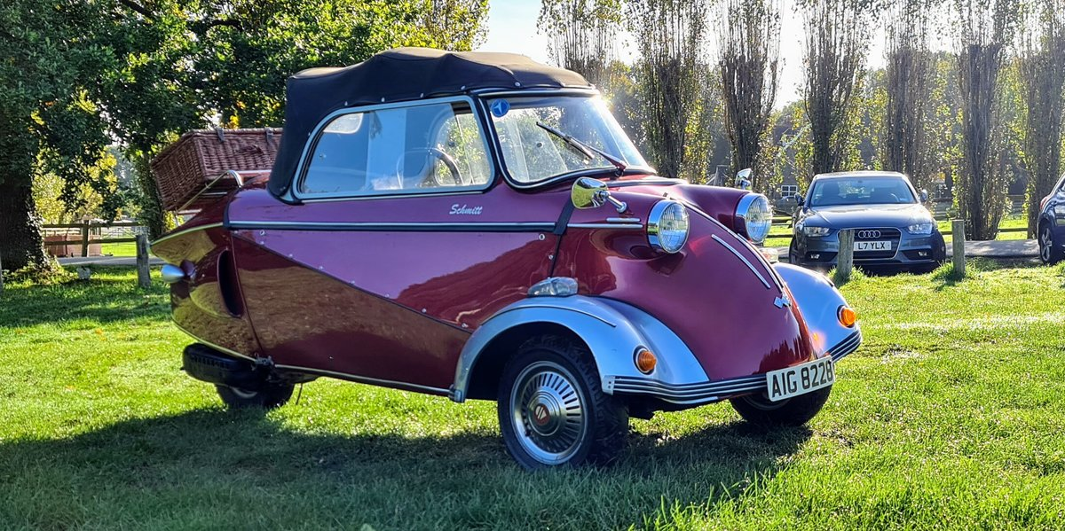 2003 Messerschmitt KR200 replica Tested with Video For Sale (picture 5 of 6)