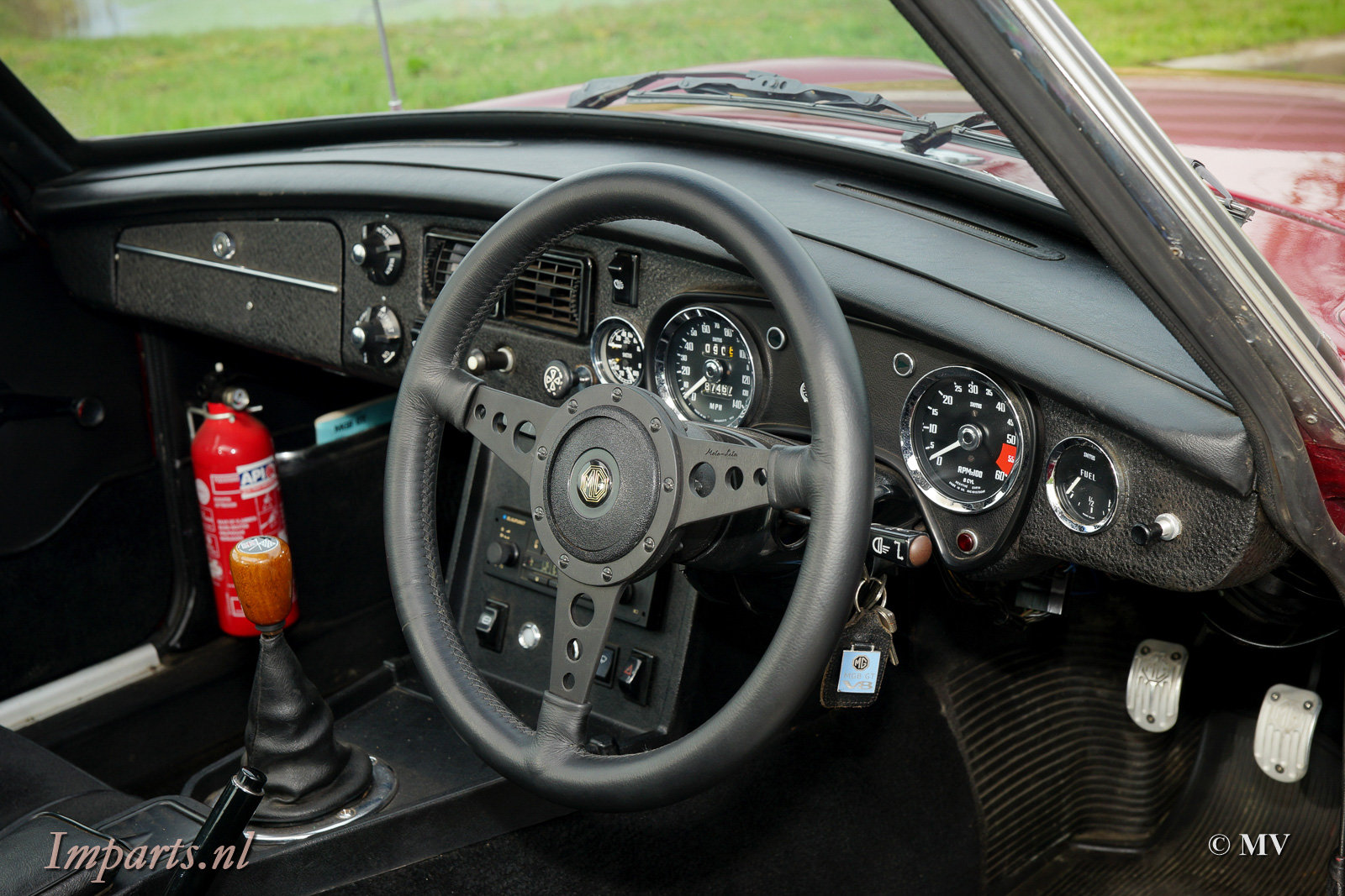 1973 MGB GT V8 with Overdrive + Webasto For Sale (picture 2 of 6)