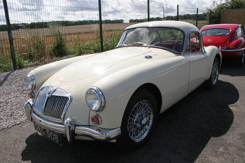 1960 MGA 1600 mk1  COUPE, UK Car, finest available SOLD (picture 1 of 6)