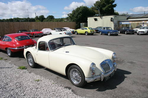 1960 MGA 1600 mk1  COUPE, UK Car, finest available SOLD (picture 6 of 6)