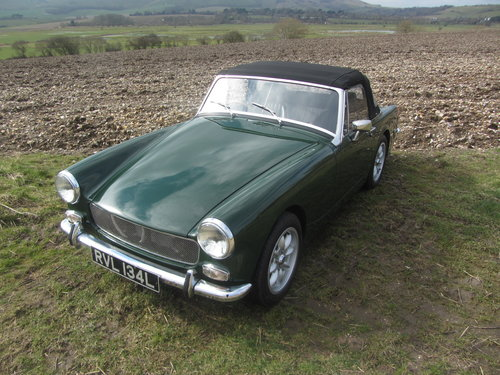 1972 MG Midget 1380cc 5 speed Heritage shell  SOLD (picture 5 of 6)