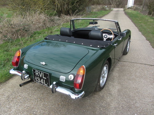 1972 MG Midget 1380cc 5 speed Heritage shell  SOLD (picture 6 of 6)