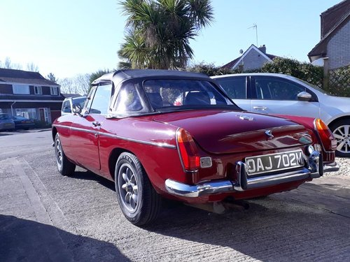MGB ROADSTER 1973 M REG SOLD (picture 2 of 3)