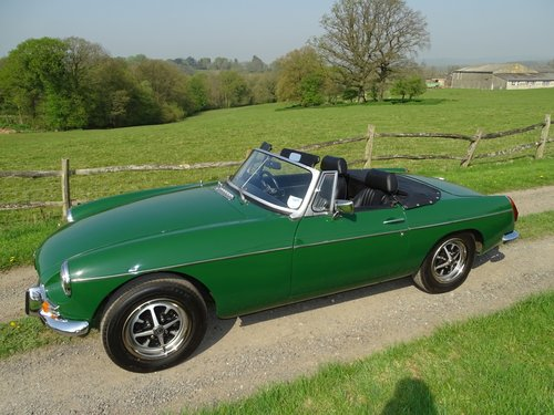 Superb 1972 MGB Roadster.Matching numbers.Lovely car. SOLD (picture 2 of 6)