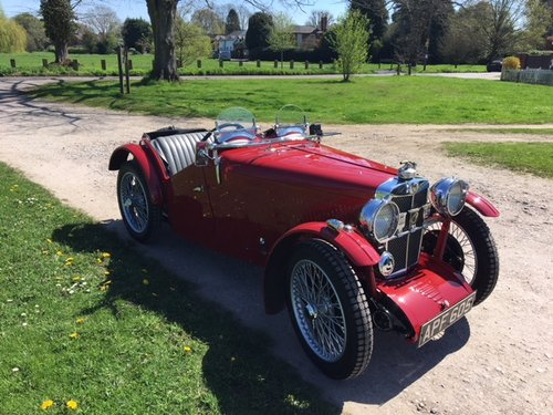1933 MG J2 Midget - Pre-war History  SOLD (picture 1 of 6)