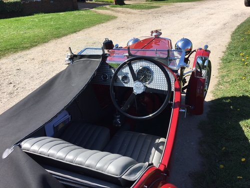 1933 MG J2 Midget - Pre-war History  SOLD (picture 2 of 6)