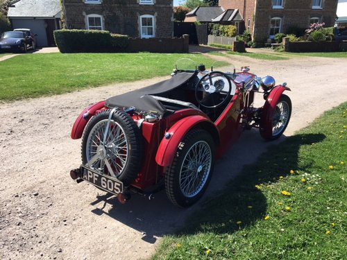 1933 MG J2 Midget - Pre-war History  SOLD (picture 3 of 6)