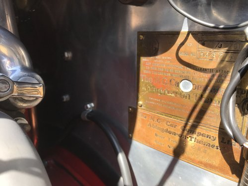1933 MG J2 Midget - Pre-war History  SOLD (picture 6 of 6)