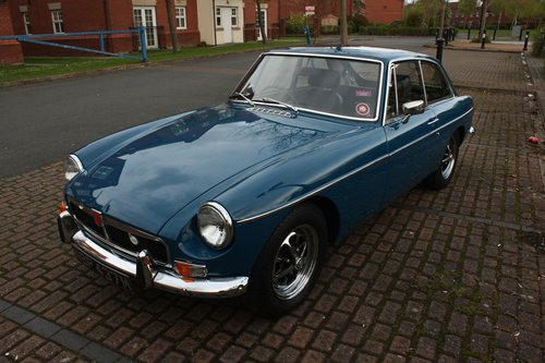 1973 MGB GT - Teal Blue - Restored, Drive away! MGBGT MG BGT SOLD (picture 2 of 6)