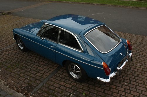 1973 MGB GT - Teal Blue - Restored, Drive away! MGBGT MG BGT SOLD (picture 3 of 6)
