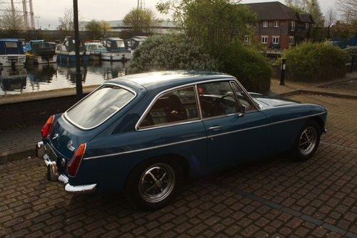 1973 MGB GT - Teal Blue - Restored, Drive away! MGBGT MG BGT SOLD (picture 6 of 6)