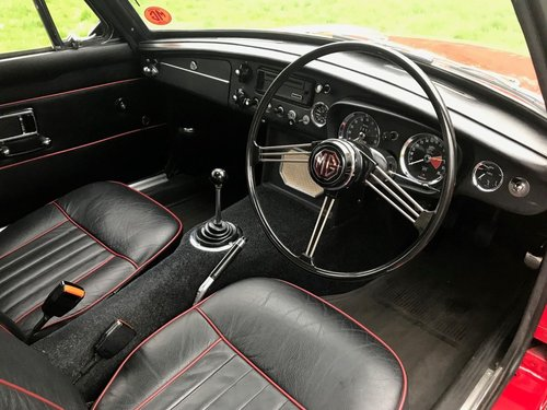 1968 MG BGT COUPE TARTAN RED 1 OWNER SIMPLY STUNNING!!!! SOLD (picture 6 of 6)