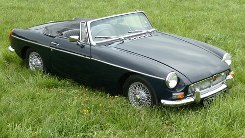 1971 MG B Roadster, last owner 23 years! For Sale SOLD (picture 1 of 6)