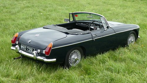 1971 MG B Roadster, last owner 23 years! For Sale SOLD (picture 3 of 6)