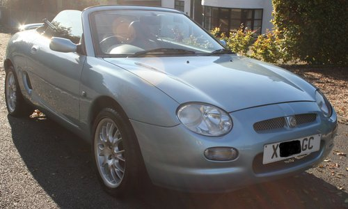 2000 MGF Limited Edition Wedgewood SE. 1.8 For Sale For Sale (picture 1 of 6)
