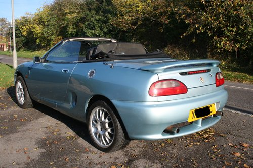 2000 MGF Limited Edition Wedgewood SE. 1.8 For Sale For Sale (picture 2 of 6)