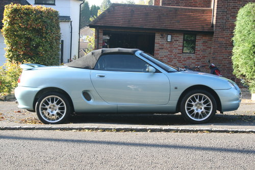 2000 MGF Limited Edition Wedgewood SE. 1.8 For Sale For Sale (picture 4 of 6)
