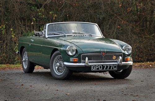 1965 MGB MK1 Roadster. Previously fully restored. SOLD (picture 1 of 6)